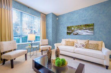 Внутренняя декоративная отделка стен (220+ Фото): Штукатурка, Обои, Покраска