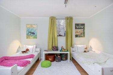 Дизайн детской спальни для двух и трех разнополых детей — 240+ (Фото) Идей зонирования интерьера