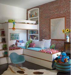 Дизайн детской комнаты с мягким диваном: Как и Куда лучше поставить?
