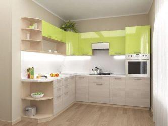 Дизайн малогабаритной кухни в хрущевке: 190+Фото реальных и практичных планировок