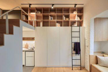 Современный Дизайн квартиры-студии. 150+ Фото Идей для интерьера