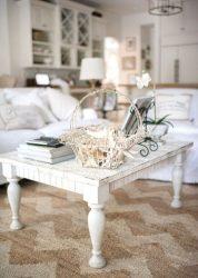 Интерьер гостиной в стиле Прованс – очарование Франции в вашем доме (170+ Фото)