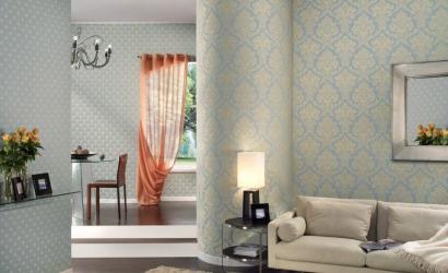 Для выразительности дизайна комбинируем обои: 135+ (Фото) Интерьеров спальни, гостиной, детской