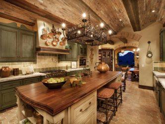 Коричневая кухня в интерьере (120+Фото) — Удачные сочетания для Шикарных идей