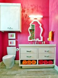 Корзина для белья в ванную: 145+ (Фото) Встраиваемых, Плетеных, Угловых