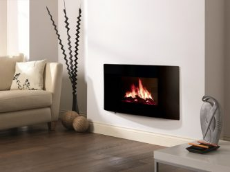 Электрический Камин с эффектом живого пламени: Настенный, Встраиваемый, Напольный. Какой модели отдать предпочтение? (230+ Фото)