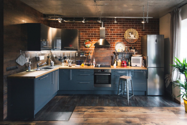 Интерьер кухни с нишей: Оформляем кухонное пространство правильно (в стене, под окном, в углу)