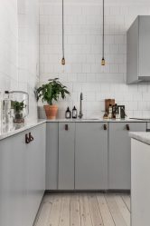 Кухня с характером: дизайн интерьера в скандинавском стиле (190+ Фото)