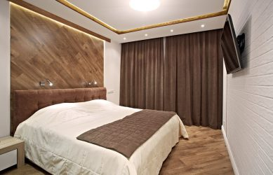 Ламинат в интерьере на полу, стене, потолке — 100+ Фото, полезные советы и обязательные рекомендации