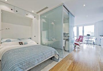 230+ Фото Идей интерьеров 1-й (однокомнатной) Квартиры в 40 кв.м. Простой и стильный современный дизайн