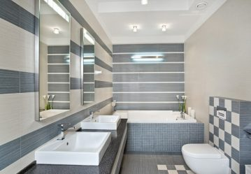 Плитка для маленькой ванной комнаты (150+Фото дизайна): Оптимальное сочетание стиля и декора