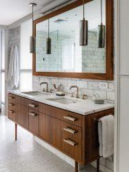 Мебель для ванной комнаты: Особенности выбора Раковины с тумбой  — как не ошибиться? (190+ Фото)