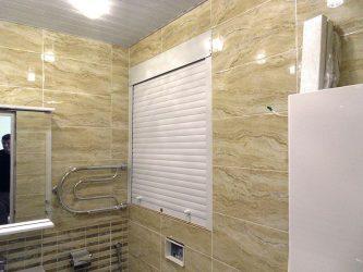 Рольставни в туалет — Выбор современного человека. 70+ (Фото) вариантов и нюансы их установки