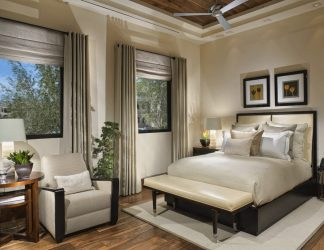 Шторы для спальни: (280+Фото): Яркий аксессуар для Вашего интерьера 2018 года