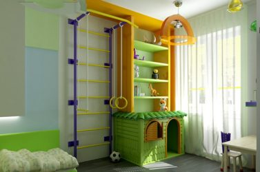 Шведская Стенка в квартиру для детей и взрослых своими руками (135+ Фото)