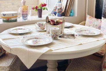 Экспериментируем со скатертями на стол: 265+ Фото Красивых и современных вариантов (силиконовая, прозрачная, ажурная)
