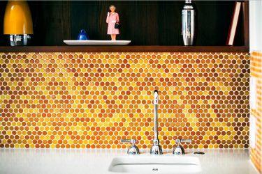 Стеклянные фартуки, скинали для кухни – Подборка идей и гид по стилю (140+ Фото)