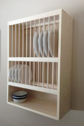 Кухонная сушилка для посуды в шкаф (115+ Фото) — встраиваемая, угловая, из нержавейки. Какую выберите Вы?