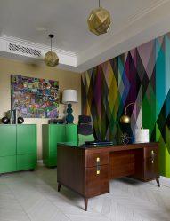 Венге в интерьере: 160+ (Фото) сочетаний цветов с мебелью (дизайн гостиной, спальни, прихожей)