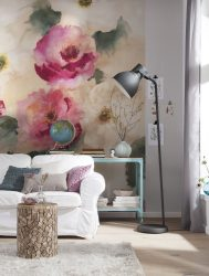 Цветы в интерьере: 175+ (Фото) Красивых сочетаний (в гостиной, спальне, на кухне)