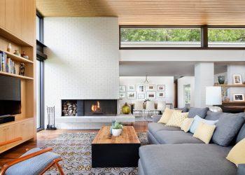 Красивые угловые Гостиные — 215+ Фото Лучших решений Экономии места (шкаф, камин, диван)