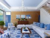 Синий цвет в интерьере—Цвет неба и моря (215+ Фото) Эксклюзивного дизайна