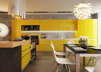 Интерьер с кислинкой: + 135 Фото кухни в желтом цвете. Начинаем утро бодро и солнечно