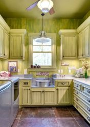 Зеленая кухня в интерьере — Свежесть и безопасность Зеленого в декорировании (130+ Фото). Что дарит этот природный цвет?