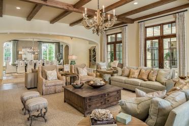 Сдержанная элегантность Американского стиля: Выбираем дизайн для квартиры (гостиной, спальни, кухни)