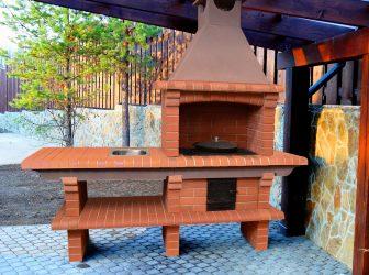 Зона Барбекю на даче: Как обустроить площадку с беседкой, мангалом и грилем? (180+Фото)