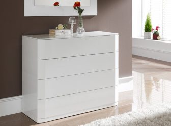 Особенности Комода белого цвета 200+ (Фото) вариантов (глянцевый, с ящиками, без ручек)