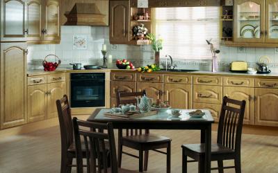 Оформление интерьера большой современной Кухни: 200+ (Фото) идей для дизайна (шторы, обои, барная стойка)