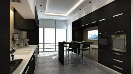 Дизайн Черной Кухни: 220 (Фото) Сочетаний В Интерьере