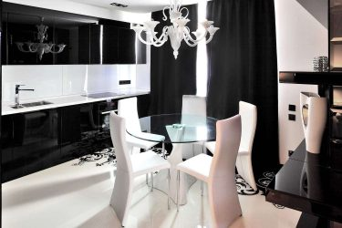 Черные кухни в интерьере — Новый тренд в кухонном мире (220+ Фото сочетаний в дизайне)
