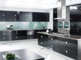 Новый тренд в кухонном мире — Черные кухни в интерьере (220+ Фото сочетаний в дизайне)