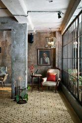 Яркость цветов и простота Интерьера: Дизайн в стиле Лофт (170+Фото)
