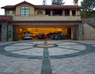 Двухэтажный дом с гаражом – Особенности планировки (180+ Фото)