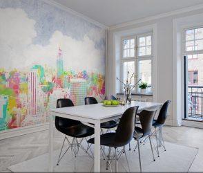 Как выглядит Фреска в Интерьере прихожей, гостиной, кухни и спальни? 150+ Фото Вариантов оригинальных идей