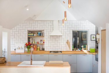 Дизайн кухни в голубых тонах: К какому стилю обратиться? 170+ Фото невероятных интерьерных сочетаний