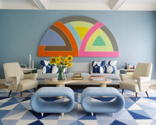 Голубой: Дзен-цвет в интерьере, чтобы достичь безмятежности. 210+ (Фото) Сочетания цветов на кухне, в гостиной, в спальне