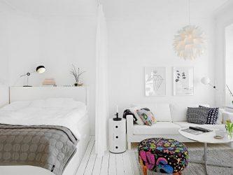 Зонируем гостиную и спальню в одной комнате (235+ Фото дизайнов): используем пространство с пользой и удобством