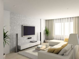 Интерьер маленькой гостиной: 190+ (Фото) Современных идей (мебель, обои, зонирование)