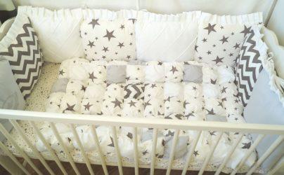 Качество постельного белья в детской кроватке для новорожденных – Залог здорового сна младенца