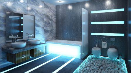 Варианты отделки Ванной комнаты Кафелем (175+ Фото). Создаем дизайн, который запомнится