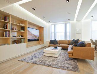 Как повесить Телевизор на стену? 150+ Фото Интерьерных оформлений