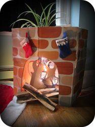 Как сделать камин из картона своими руками (90+ Фото): Пошаговые инструкции мастер-классов