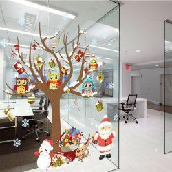 180+Фото идей: Как красиво и Оригинально украсить офис своими руками на новый 2018 год