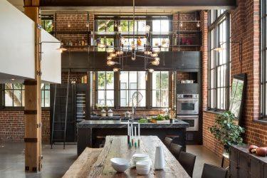 Кирпичная стена в интерьере – Эффектный способ преображения вашего дома (260+ Фото). Сочетание в гостиной, на кухне, в спальне