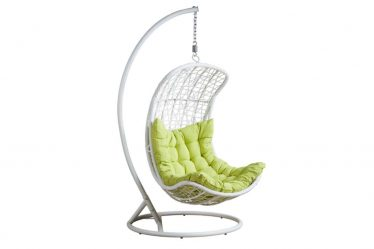 Подвесное Кресло из натурального и искусственного ротанга: 195+ Фото вариантов (плетеное, макраме, с чехлом)