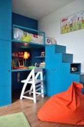 Кровать-чердак с Рабочей зоной (165+ Фото): Оригинальные идеи для небольших помещений